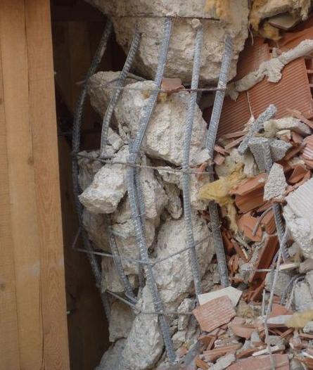 Refuerzo de pilares en zona sísmica